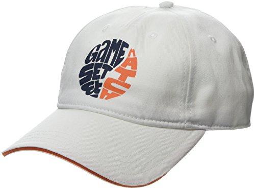 Lacoste Herren Baseball Cap RK3551 Casquette Multicolore (Blanc/Abricot-Marine-Abri) Unique (Taille Fabricant: TU) Lot De, Multicolore (Blanc/Abricot-Marine-Orange Abri), One size