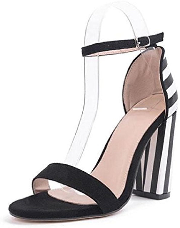 Tingtingbin - Sandalias de mujer para zapatos, leopardo, 5 -