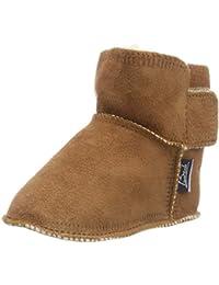 e1091c9cb455e Amazon.fr   Marron - Chaussons   Chaussures bébé fille   Chaussures ...