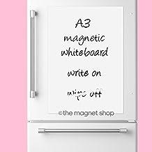 A3 Borrado En Seco Blanco Magnético Pizarra blanca Tablero De Notas Imán NEVERA Póster notas Flexible grande el nevera TIENDA DE IMANES