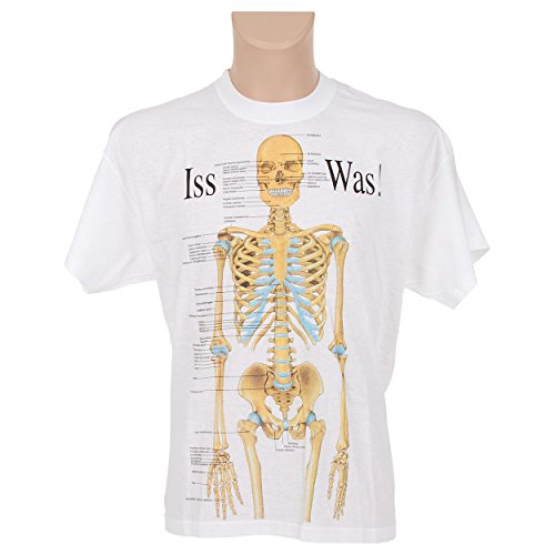 Sport-Tec Kurzarm T-Shirt Skelett, Anatomie Lernhilfe, Medizinische Lernmittel, Gr. XXL (Skelett Anatomie Shirt)