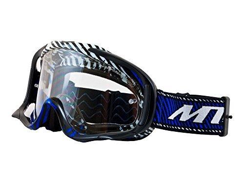 MT Motocross Schutzbrille MX Pro III Anti-Beschlag & Anti-Kratzer - Blau