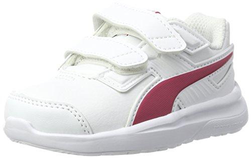 Puma Unisex-Kinder escaper SL V Inf Sneaker, Weiß (White-Love Potion), 20 EU (Schuhe Baby Herbst)