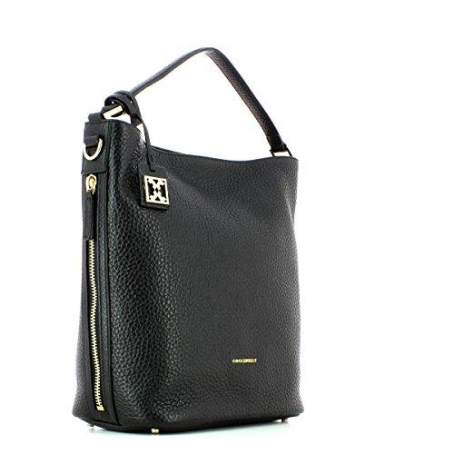 COCCINELLE DAFNE BUBBLE SHOULDER BAG XC2130101 001 NERO