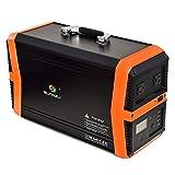 TIANQING Chargeur de générateur de Banque d'alimentation Portable 1000W AC, chargé par Panneau Solaire 25.9V / 39Ah, Batterie Externe Compatible avec Mac Book, HP...