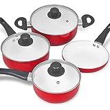 vidaXL Ensemble de 7 pièces casserole céramique