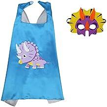 Amazon.es  disfraz dinosaurio niño - Azul e1a8e7f7d64