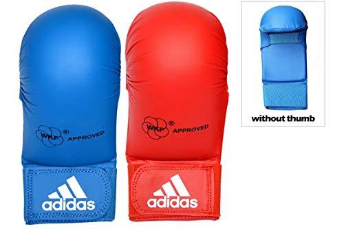 adidas Karate-Handschuh, Größe L, Blau