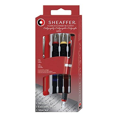 Sheaffer - Pluma estilográfica 3 plumines intercambiables