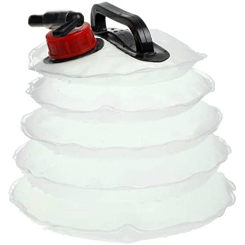 Deportes al aire libre camping PVC plegable Cubo de Agua 4litros.