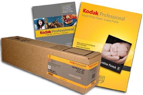 KODAK Professional Lustre 24, Formato 60.96 cm x 30.5 m, Peso 255g/mq, Carta Plotter Fotografica, Plotter Photo