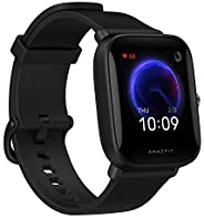 "Amazfit Bip U Smart Watch, 1.43"" HD Color Display, SpO2 & Stress Monitor, 60+ Sports Modes, Breathing"