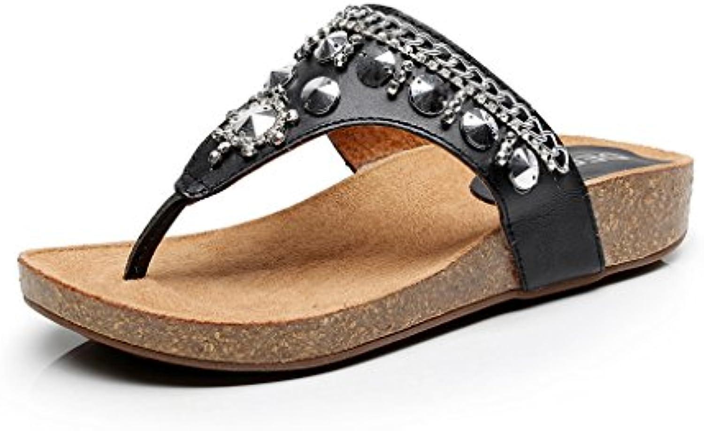 Amy Q - Zapatos de tacón  mujer 46 EU|metálico
