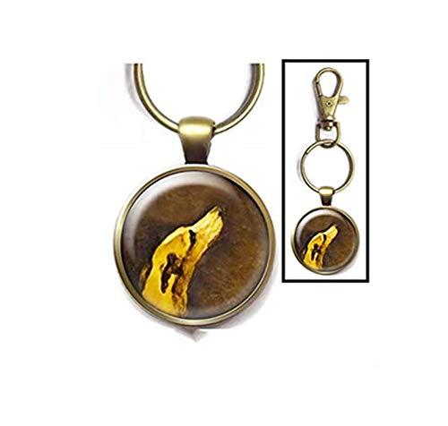 Heng Yuan Cheng Greyhound - Llavero diseño Galgo