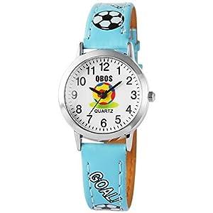 Qbos Kinderuhr Armbanduhr schwarz