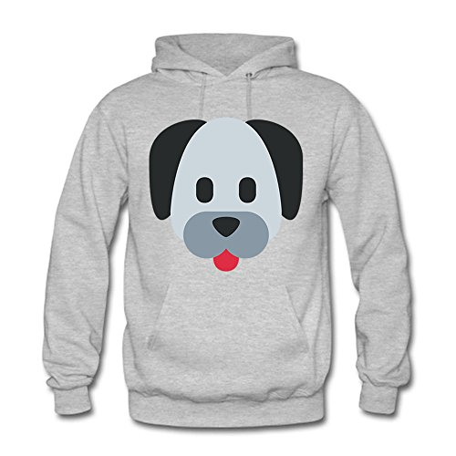 Classic Pullover Hooded Sweatshirt - Women's Original Design Cute Dog Graphic Tops F