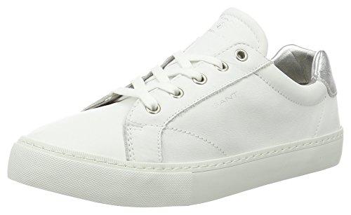 Gant Alice, chaussons d'intérieur femme Weiß (bright wht.+silver)