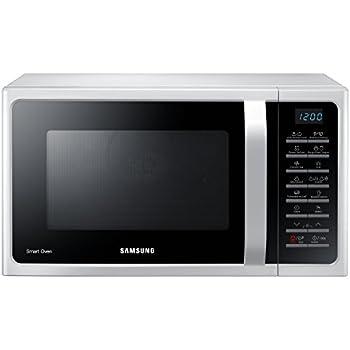 Samsung MC28H5015AW Forno a Microonde, 900 W, Grill 1500 W, 28 l, Bianco