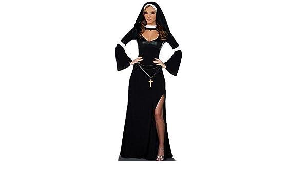 BO Suore di travestimento di Halloween di RPG vestono costumi di Halloween  costumi di Halloween costumi adulti  2b38f2b15998