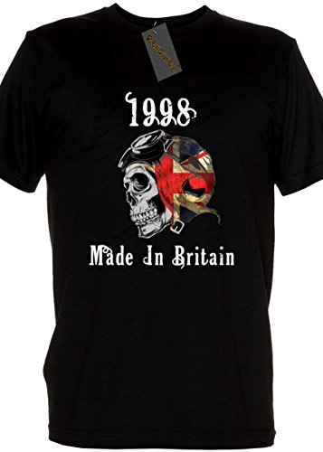 Renowned Ladies Shirt - Legend 1998 Made In Britain Ladies T Shirt Weiß
