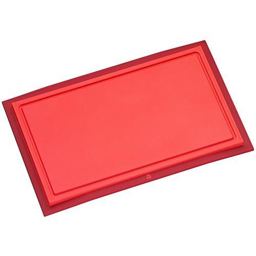 WMF Touch Schneidebrett Tranchierbrett rot 32 x 20 cm rechteckig  Kunsstoff Saftrillen...