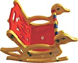 Pihu Enterprises Kid's Rocking Chair (Red and Yellow)