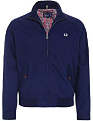 Fred Perry Ealing Bomber Jacket Carbone Bleu