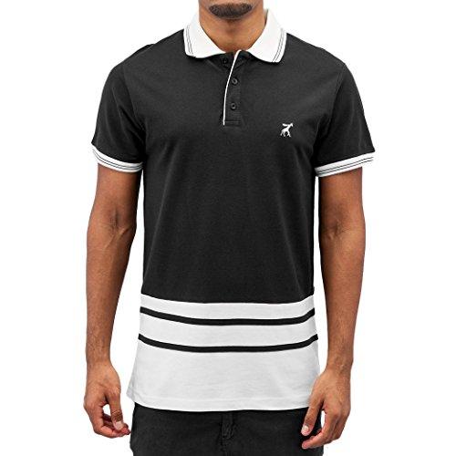 Cazzy Clang Herren Oberteile / Poloshirt Colin Black