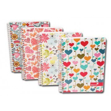 2-x-a5-twin-wire-marlene-west-notebook-colori-assortiti-e-regalo
