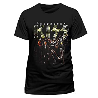 Kiss Destroyer Germany Official Unisex T-Shirt (Black) XX-large
