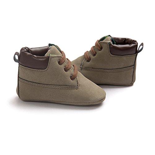 Royal Victory , {Chaussures premiers pas pour bébé (garçon) gris foncé