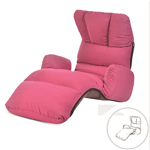 Lazy Couch Bean Bag Chair Simple Canapé-lit Pliable Fauteuil Arrière Simple Moderne Balcon Baie Fenêtre Lounge Chaise Accoudoir (Couleur : #2)