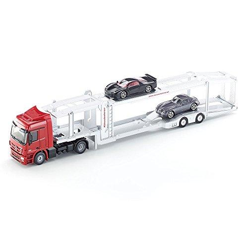 Siku - 3934 - Véhicule Miniature - Camion Porte Autos - Métal - Echelle 1/50