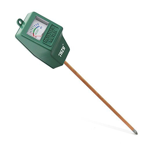 Moisture Meter,THZY Indoor/Outdoor Moisture Sensor Meter,soil water monitor, Hydrometer for gardening, farming