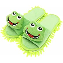 Selric® Chaussons serpillère Grenouille verte (bout ouvert) bf05f74aaef