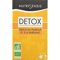 NutriSensis Detox grâce au Pissenlit/à la Bardane Infusions 20 Sachets 32 g -