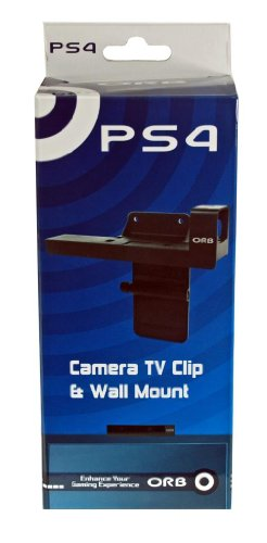 ORB Camera TV Clip and Wall Mount for Playstation 4 PS4