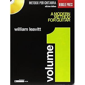 Metodo moderno per chitarra vol. 1   + CD