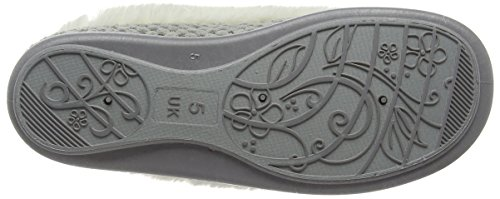 FREESTEP Bette, Chaussons femme Gris - Grey (Grey 040)