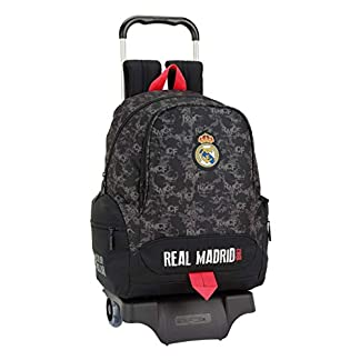 41reQq0B1TL. SS324  - Real Madrid CF- Real Madrid Trolley, Color Negro (SAFTA 611924313)