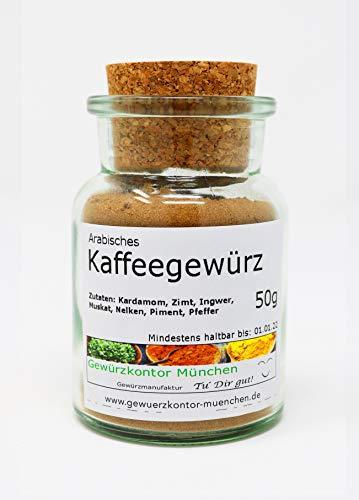 Arabisches Kaffeegewürz 50g im umweltfreundlichen Glas Gewürzkontor München