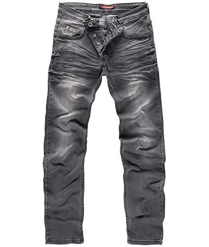 Rock Creek Herren Jeans Grey RC-2108 [W44 L38]