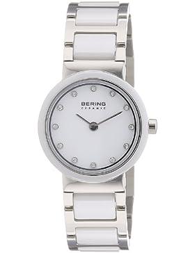 Bering Time Damen-Armbanduhr Ceramic Analog Quarz 10725-754