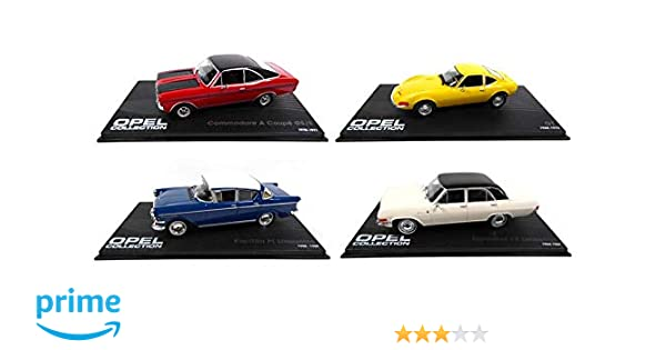 4 Lot Opel Eaglemoss CollectionCommodoreGt 143 De Voitures UMGqSzVp