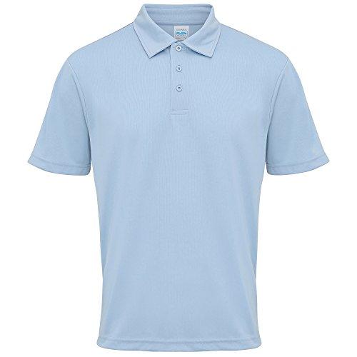 Just Cool Herren Polo-Shirt Sports Himmelblau