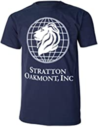 Stratton Oakmont Inc Wolf Of Wall Street Mens Navy T Shirt