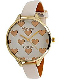 A R Sales Beige Analog Watch For Women's And Girls