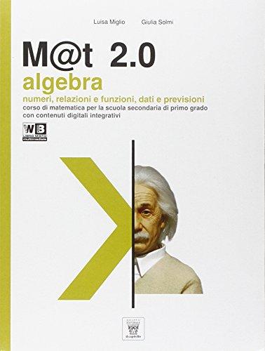 M@t 2.0. Per la Scuola media. Con DVD. Con e-book. Con espansione online: 3