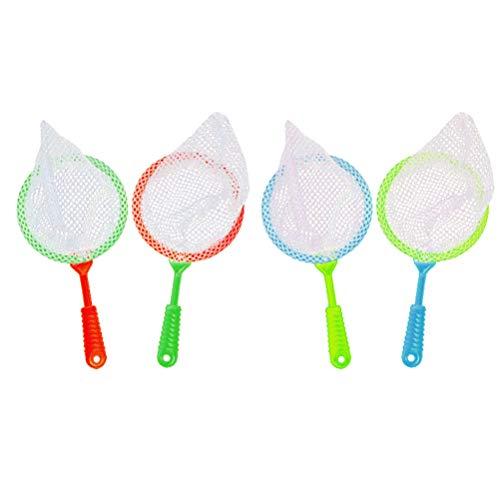 Catvhing Net Durable Bug Catcher Net Insekt Sammeln Bad Spielzeug Abenteuer Werkzeug für Kinder Kinder 4 Stücke ()