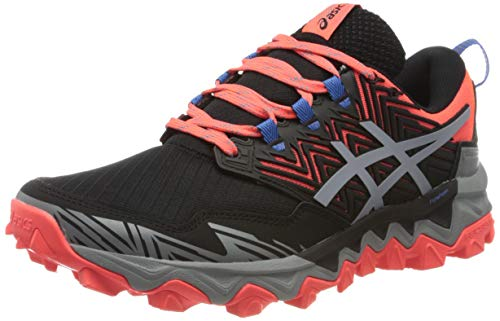 Asics Gel-Fujitrabuco 8, Running Shoe Womens, Flash Coral/Sheet Rock